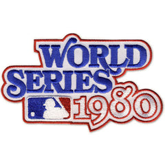 1980 World Series Patch
