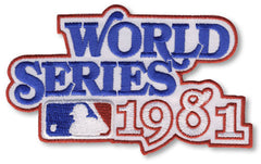 1981 World Series Patch