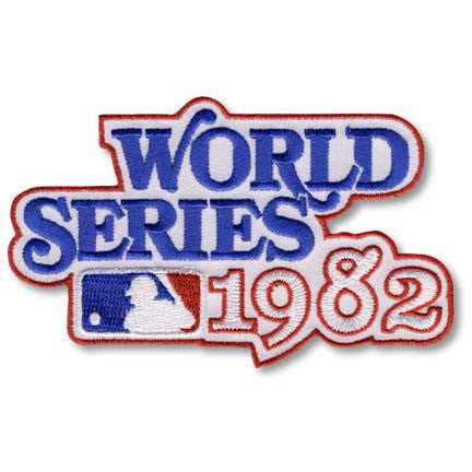 1982 World Series Patch