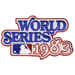 1983 World Series Patch