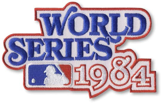 1984 World Series Patch