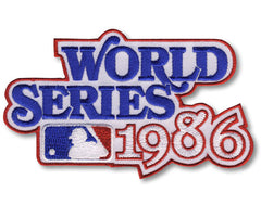 1986 World Series Patch