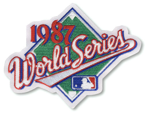 1987 World Series Patch