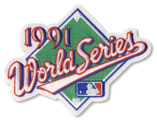 1991 World Series Patch