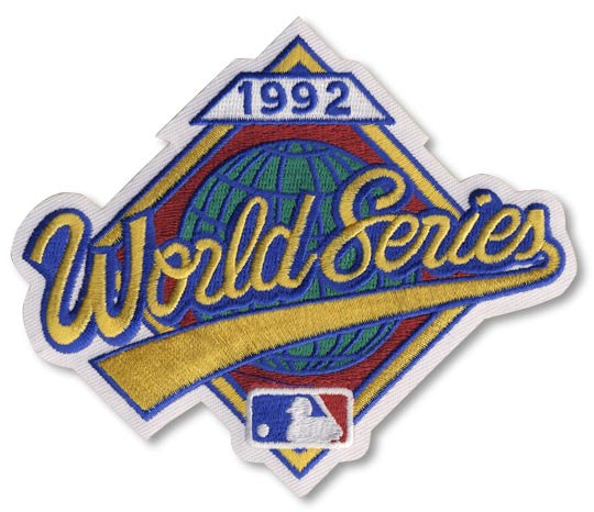 1992 World Series Patch