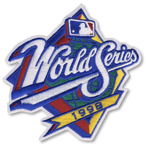 1998 World Series Patch