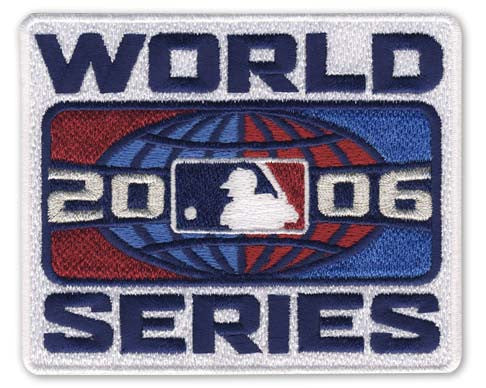 2006 World Series Patch
