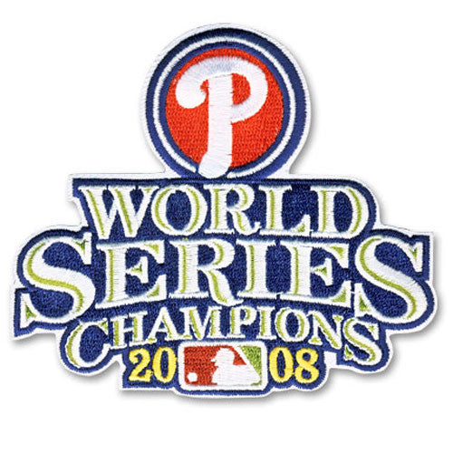 Philadelphia Phillies 2008 World Series Championship Patch