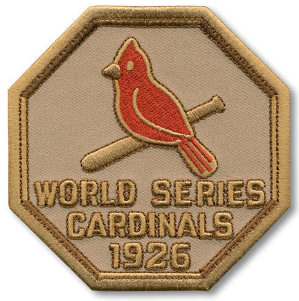 St. Louis Cardinals 1926 World Series Championship Patch