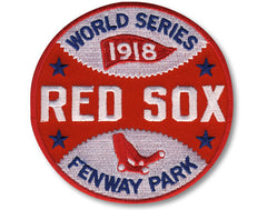 Boston Red Sox 1918 World Series Patch