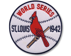 St. Louis Cardinals 1942 World Series Championship Patch