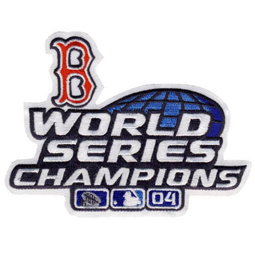 Boston Red Sox 2004 World Series Championship Patch