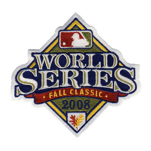 2008 World Series Patch