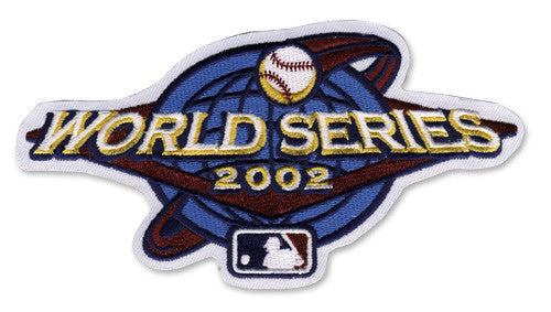 2002 World Series Patch