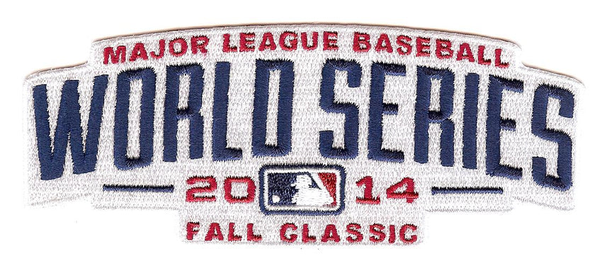 2014 World Series Patch