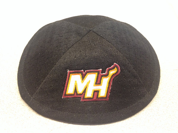 Miami Heat Secondary Logo 'MH' Kippah