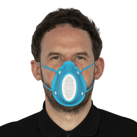 Air Armour KN95 Mask | Blue + 11x Filters - Shop | LivCor Australia