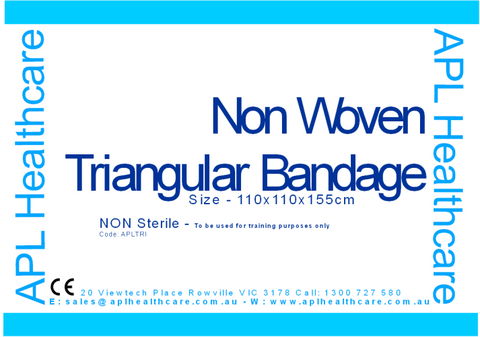APL Healthcare Triangular Bandages (Non-woven) - Shop | LivCor Australia