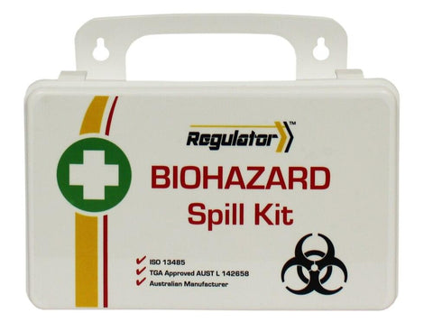 Biohazard Spill Kit | Hard Plastic Pack - Shop | LivCor Australia