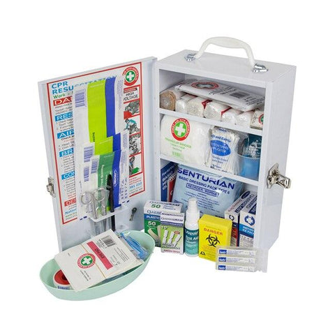 Childcare Metal Wallmount First Aid Kit - Shop | LivCor Australia
