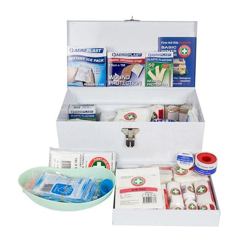 Contractor Metal Tool Box First Aid Kit - Shop | LivCor Australia