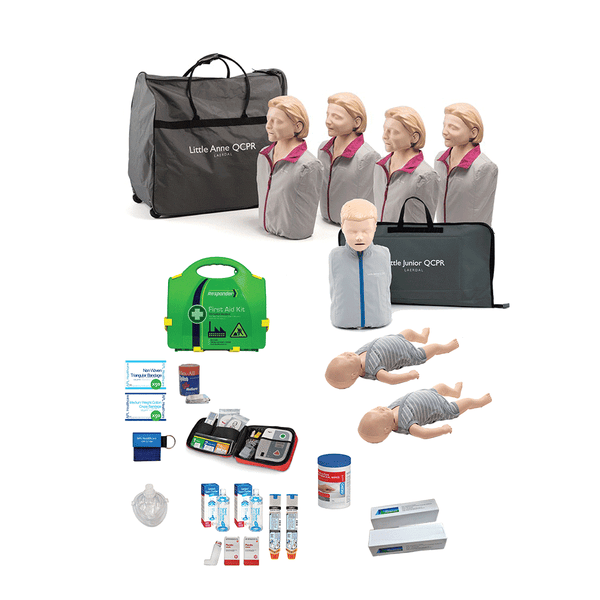 CPR / First Aid Trainer Starter Pack | Laerdal QCPR Manikins - Shop | LivCor Australia
