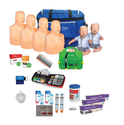 CPR / First Aid Trainer Starter Pack | Practi-man Advance | MultiBag - Shop | LivCor Australia