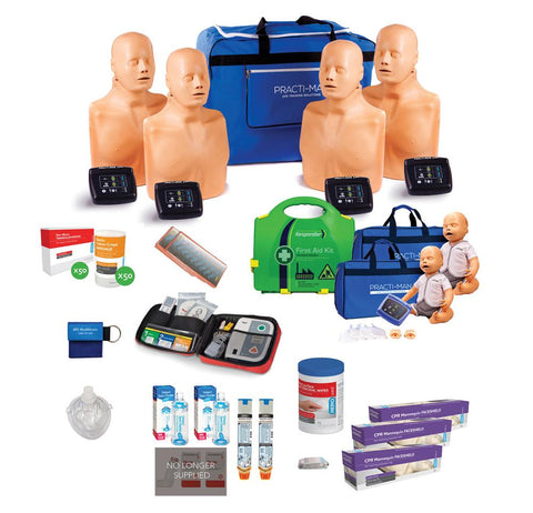 CPR / First Aid Trainer Starter Pack | Practi-man +PLUS - Shop | LivCor Australia