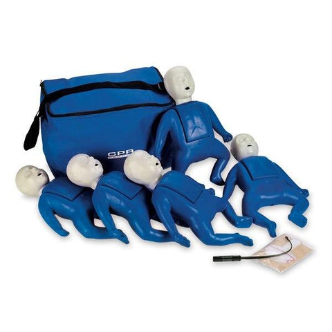 CPR Prompt Infant Manikins | 5-Pack - Shop | LivCor Australia