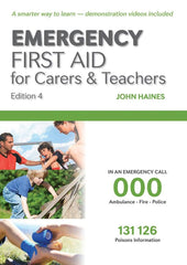Emergency First Aid Carers & Teachers Combo Pack | Textbook + Student Workbook 30:30 - Shop | LivCor Australia