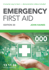 Emergency First Aid Combo Pack | Textbook + Student Workbook 30:30 - Shop | LivCor Australia
