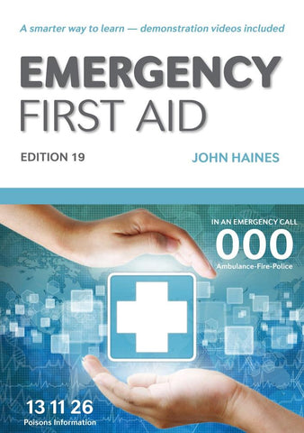 Emergency First Aid (Ed.19) | HLTAID003 - Shop | LivCor Australia