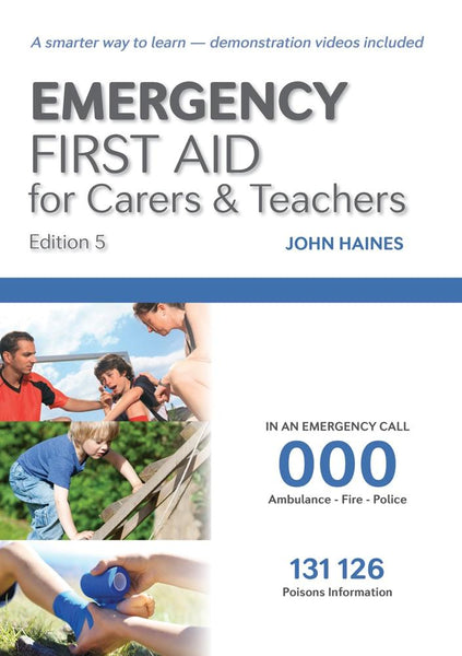 Emergency First Aid for Carers & Teachers (Ed.5) | HLTAID004 - Shop | LivCor Australia