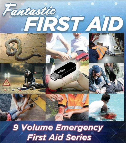 Fantasic First Aid Videos (USB) - Shop | LivCor Australia