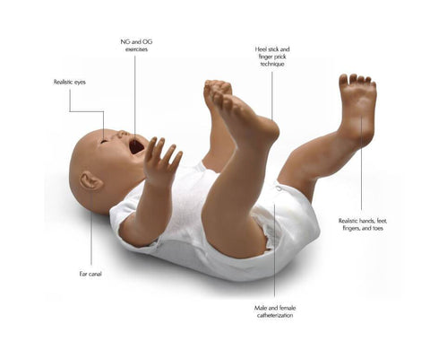 Gaumard Susie/Simon Advanced Newborn Care Simulator - Shop | LivCor Australia