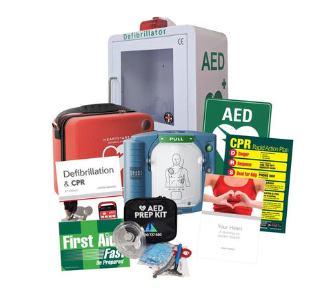 HS1 Be Prepared Defibrillator Pack - Shop | LivCor Australia