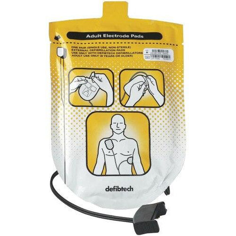 Lifeline Adult Defibrillation Pads - Shop | LivCor Australia