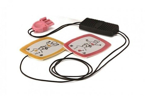 Lifepak CR Plus Infant/Child Reduced Energy Defibrillation Electrodes - Shop | LivCor Australia