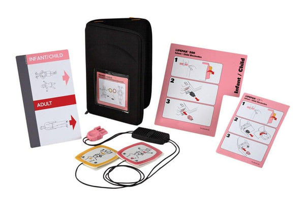 Lifepak CR Plus Pediatric Pad Starter Kit - Shop | LivCor Australia