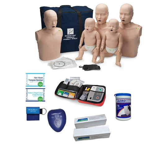 Prestan Professional Family Starter Pack | With CPR Rate Monitor - Shop | LivCor Australia