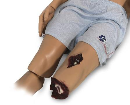 Rescue Randy Upgrade: Leg Flash Moulage - Shop | LivCor Australia