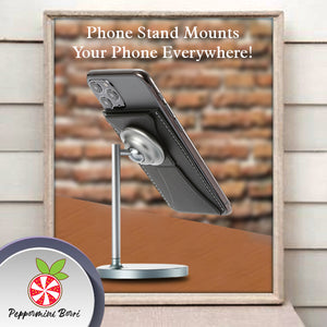 Invisible Phone Stick-On Pocket Stand