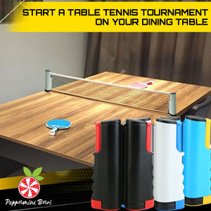 PortaNET Indoor Table Tennis Rack