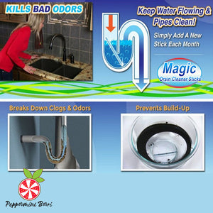 Magic Drain Cleaner Sticks