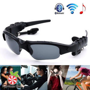 Wireless Bluetooth Headset Riding Glasses