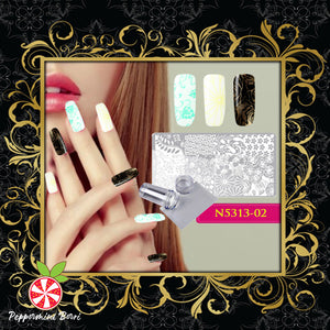 DIY Nail Art Stamp Templates