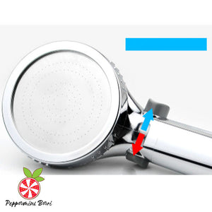 3-Way High Pressure Jet Shower Head