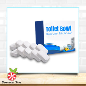 Toilet Bowl Quick-Clean Soluble Tablet