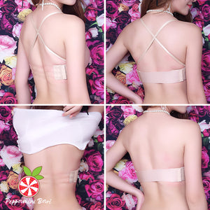 Magical Strap-Free Drawstring Push Up Bra