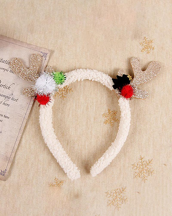 Christmas Antler Decor Hair Hoop